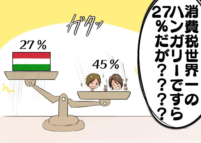世界一消費税の高い場所の4コマ目